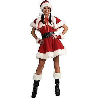 Charmerende Santa voksen kostume