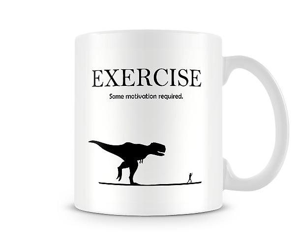 Decorative Exercise Some Motivation Required Mug