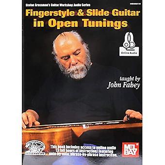 Fingerstyle & guitare Slide en Open Tunings