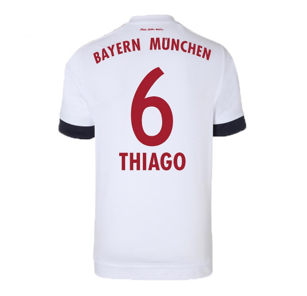 2015-16 Bayern Munich Away Shirt (Thiago 6)