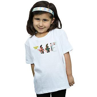 Looney Tunes Girls Yosemite Sam Colour Code T-Shirt