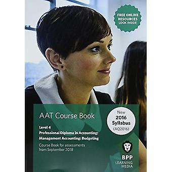 AAT Management Accounting budgetering-Coursebook av AAT Management ACC