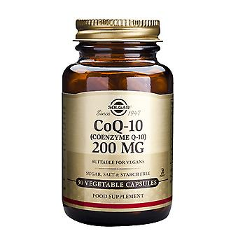 Solgar, Coenzyme Q-10 200 mg Vegetable Capsules, 30