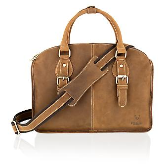 Sandy Brown Nu Buck Leather 15