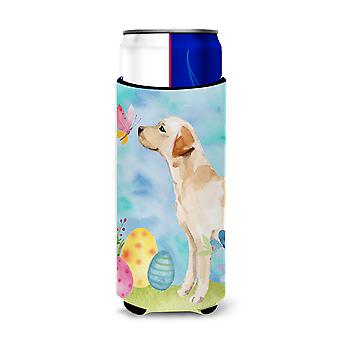 Yellow Labrador #2 Easter Michelob Ultra Hugger for slim cans