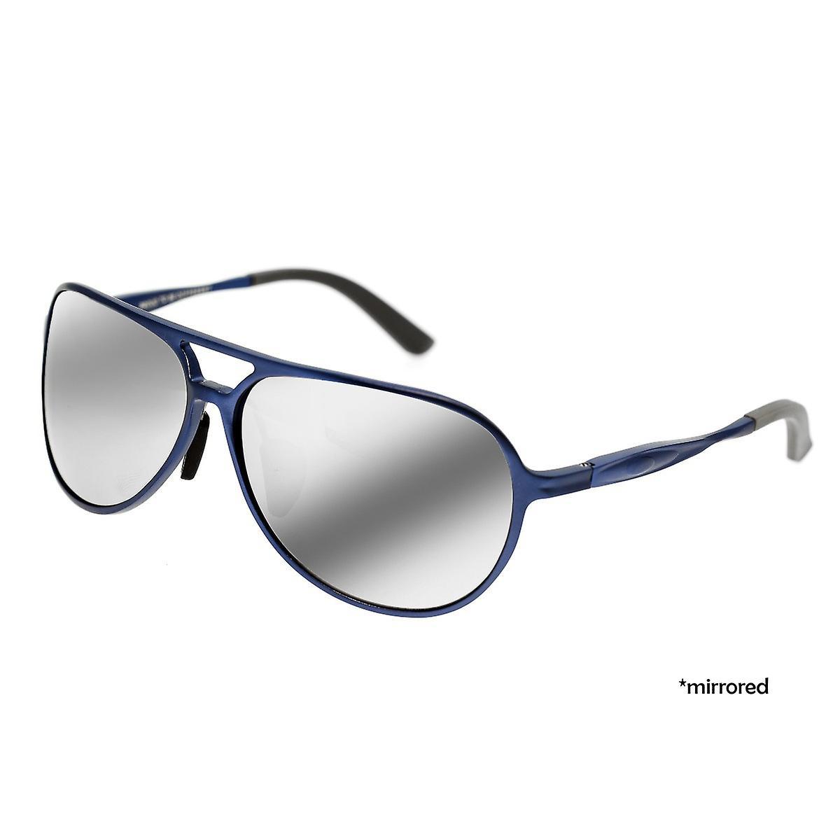 Race Earhart Aluminium Polarized lunettes de soleil - bleu argent