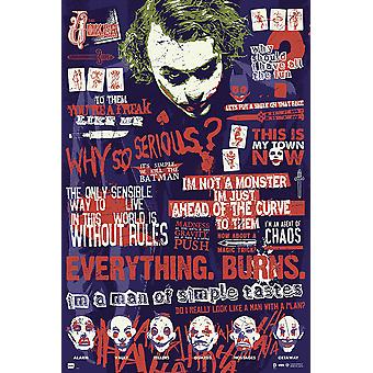 Poster - Studio B - Joker - Quotes 36x24