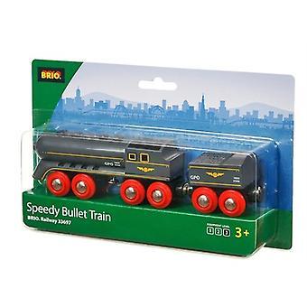 BRIO snelle kogel trein