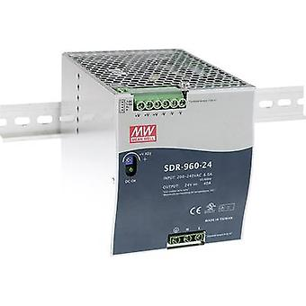 Mean Well SDR-960-48 Rail mounted PSU (DIN) 48 Vdc 20 A 960 W 1 x