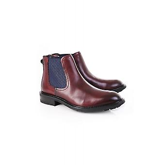 Ted Baker Mens Warkrr Leather Chelsea Boot