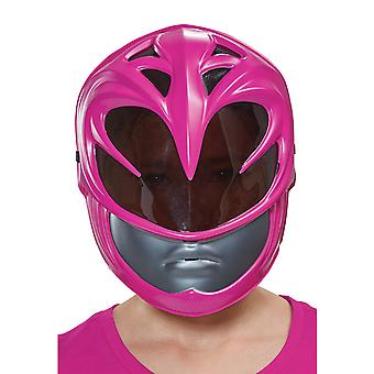 Ranger rose Power Rangers Movie Superhero filles Costume masque coquille plastique