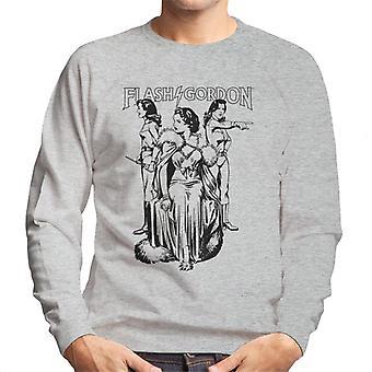 Flash Gordon Dale Trio Men's Sweatshirt