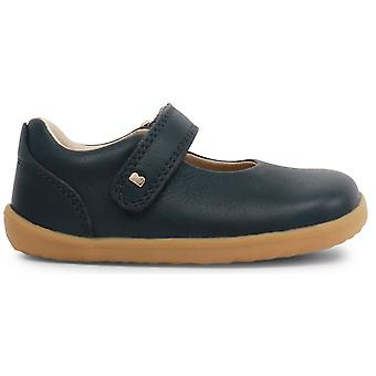 Bobux Step Up Girls Delight Shoes Navy