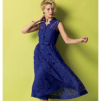 Misses' Dress, Belt And Slip  6  8  10  12  14 Pattern B5920  A50