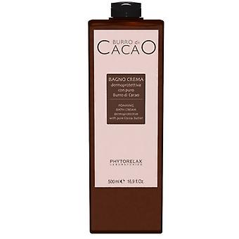 Phytorelax Burro di cacao foaming bath cream 500ml