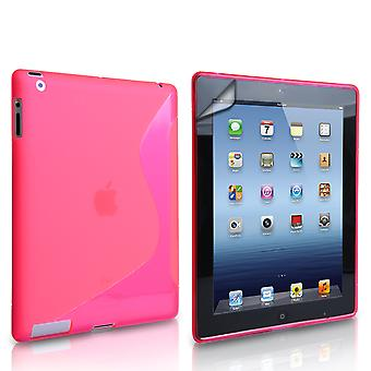 Caseflex Apple iPad Mini 2, 3 SLine Gel Case Hot Pink
