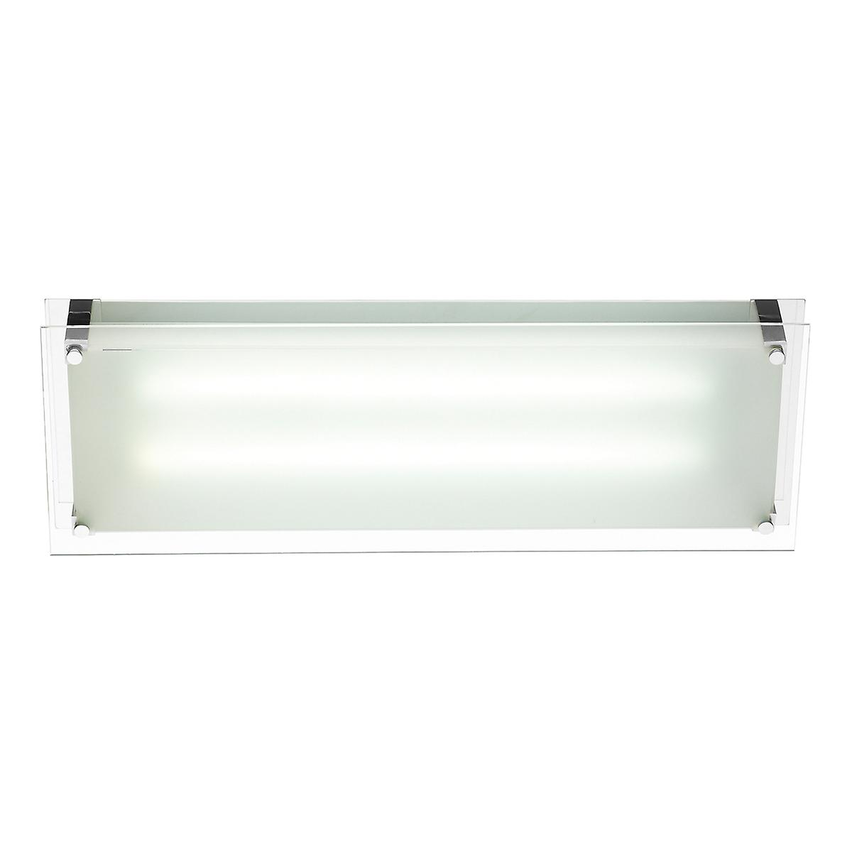 Dar LYN4850 Lynton Modern Low Energy Fluorescent Kitchen Ceiling Light