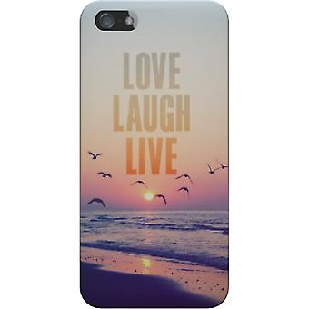 Cover mate Love laugh live for iPhone 5S/SE