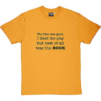 Best Of All Was The Book Men's T-Shirt
