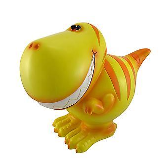 جمبو الأصفر تي ركس الديناصور عمله البنك الأطفال