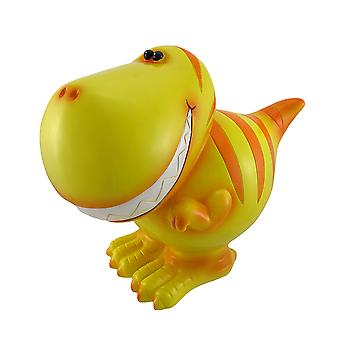 Kinder Jumbo gelb T-Rex Dinosaurier Spardose