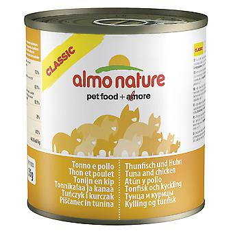 Almo Nature Classic Cat Tuna And Chicken 280g (Pack of 12)