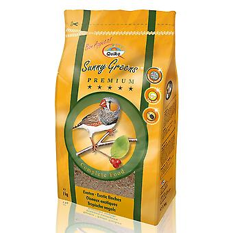Quiko Exotic Finch Sunny Greens Complete Food 1kg