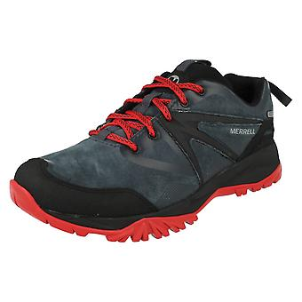 Merrell Herren wasserdichte Lace Up Trainer Capra Bolt Leder WTPF