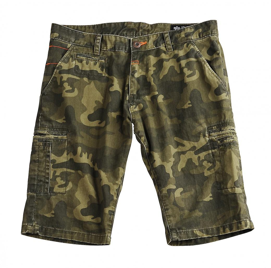 Alpha industries deck shorts camouflage