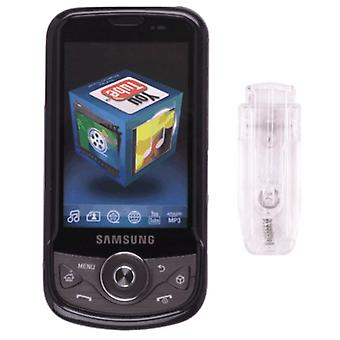Snap-On Case for Samsung Behold II SGH-T939 (Black)
