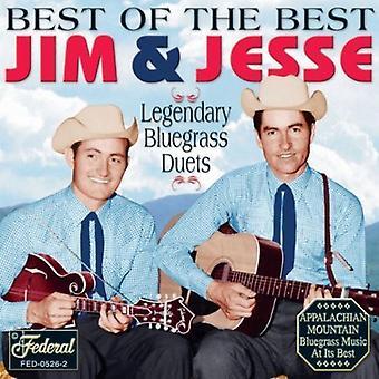 Jim & Jesse - bedste af det bedste [CD] USA importerer