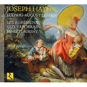 J. Haydn - Joseph Haydn, Ludwig August Lebrun: Symfonier & koncerter [CD] USA import