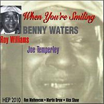 Benny Waters - når du er smilende [CD] USA import