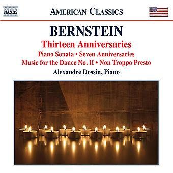 Bernstein / Dossin, Alexandre - klavermusik [CD] USA import