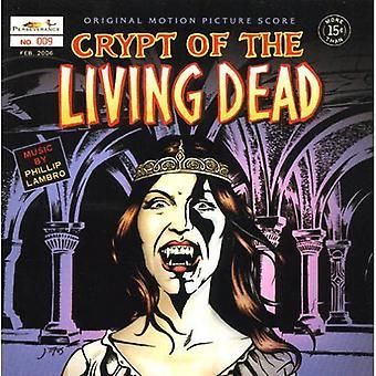 Forskellige kunstnere - Crypt af levende døde [oprindelige Motion Picture Score] [CD] USA importerer