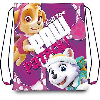 Kids Euroswan Gym Bag 41Cm Skye Paw Patrol (Toys , School Zone , Backpacks)