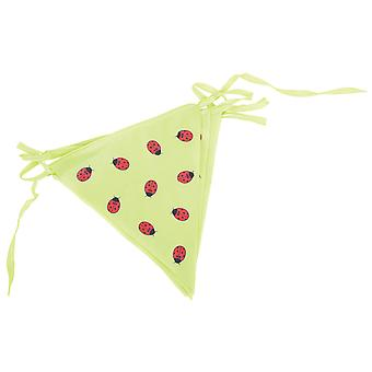 Bigjigs Toys Children's Green 3 Metre Bunting with Ladybirds