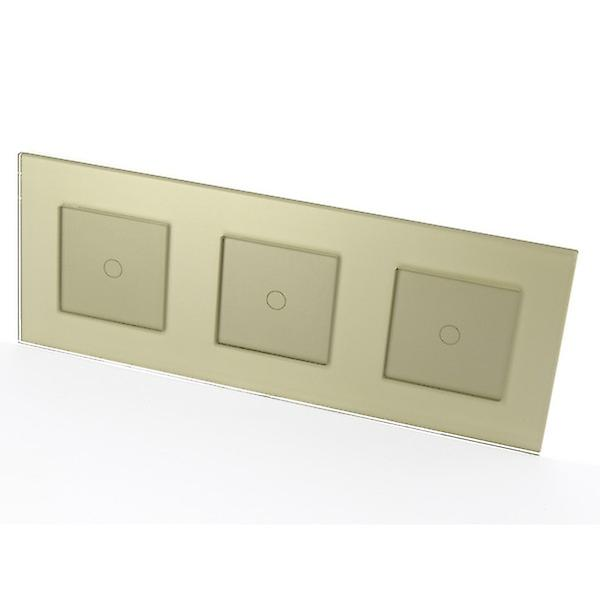 I LumoS Luxury or Glass Frame & or Insert Touch Dimmer LED lumière Switches