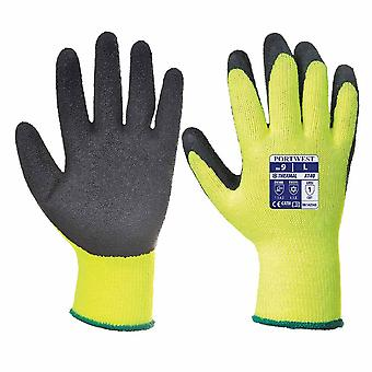Portwest - 6 Pair Pack Thermal Hand Protection Grip Glove