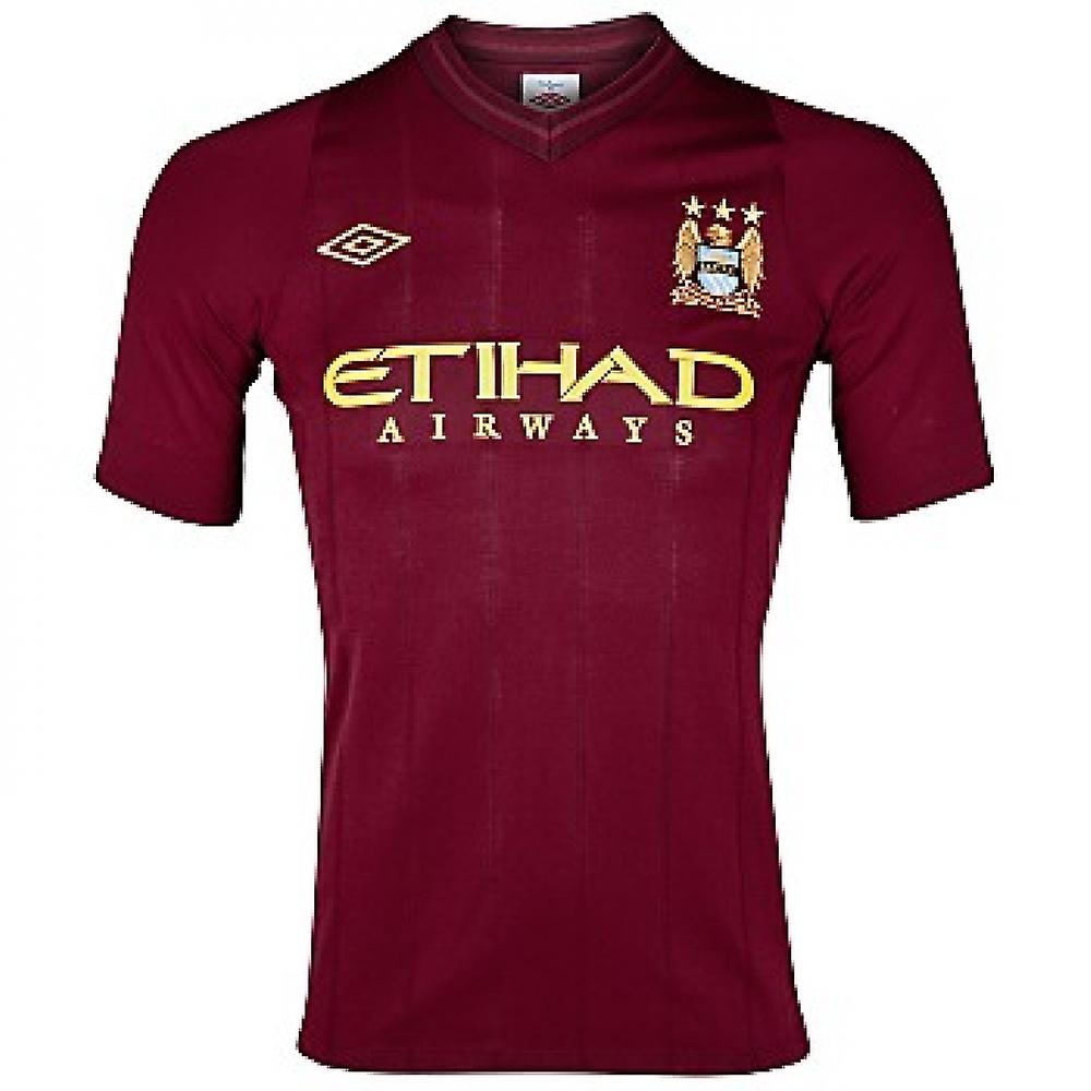 2012-13 Man City Loin Umbro Football Shirt (Enfants)
