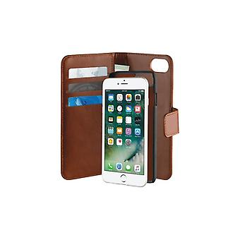 PURO iPhone 8/7/6S, Detach the Duetto Wallet, Brown