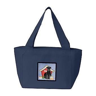 Dog House Collection Standard Schnauzer Black Lunch Bag