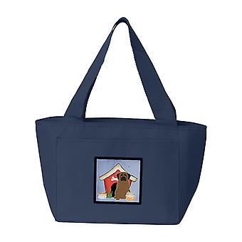 Carolines Treasures  BB2838NA-8808 Dog House Collection Bullmastiff Lunch Bag