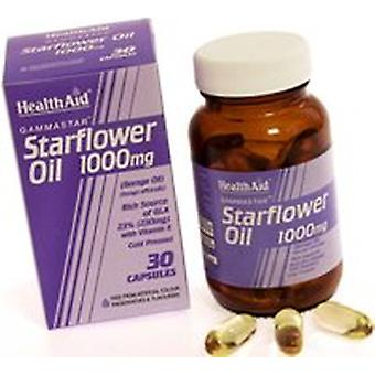 Health Aid Starflower Oil 1000mg (23% GLA), 60 Capsules