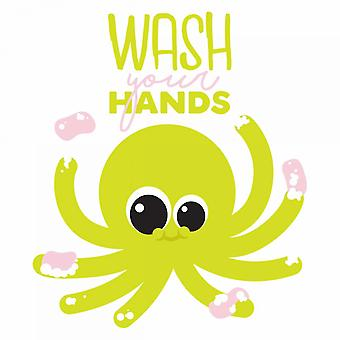 Wash Your Hands Poster Print by Jace Grey