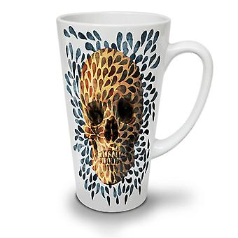 2647328a Salg Natur mønster blad nye hvit te kaffe keramiske Latte krus 17 oz    Wellcoda