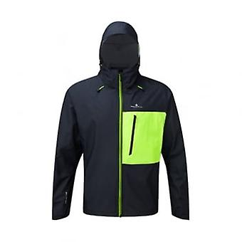 Infinity Torrent Mens Running Jacket Black