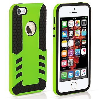iPhone 5 og 5s / SE grænsen Combo sag - grøn