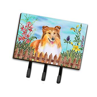 Carolines Treasures  CK1282TH68 Sheltie Spring Leash or Key Holder