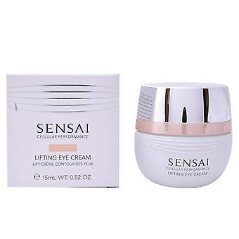 Opheffen van cellulaire Kanebo Sensai oog crème 15 Ml voor vrouwen